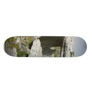 Paulnabrone Tombs Dolmens Burren Rocks Slabs Skate Deck