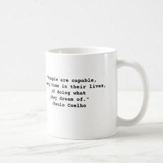 Paulo Coelho Quote Mug