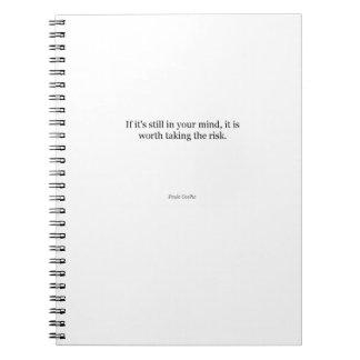Paulo Coelho Quote Note Books