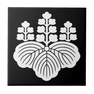 Paulownia with 5&7 blooms ceramic tile