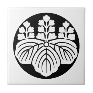 Paulownia with 5&7 blooms in rice cake tile