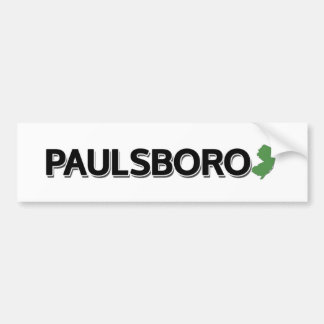 Paulsboro, New Jersey Bumper Sticker