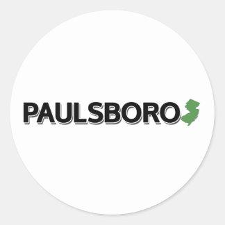 Paulsboro, New Jersey Classic Round Sticker