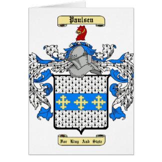 Paulsen Card