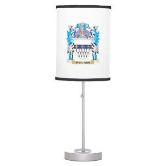 Paulsen Coat of Arms - Family Crest Table Lamps