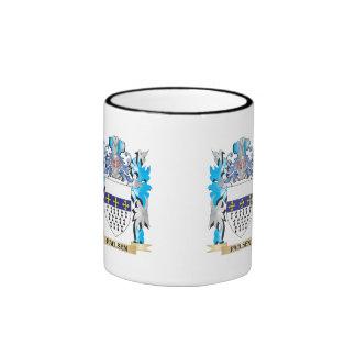 Paulsen Coat of Arms - Family Crest Ringer Coffee Mug