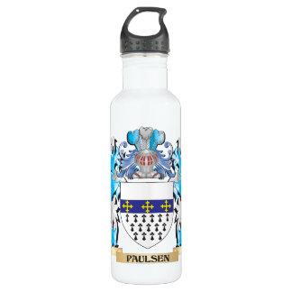Paulsen Coat of Arms - Family Crest 24oz Water Bottle