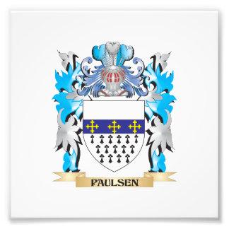 Paulsen Coat of Arms - Family Crest Photo Print