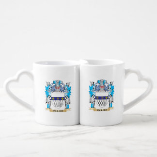 Paulsen Coat of Arms - Family Crest Couples' Coffee Mug Set
