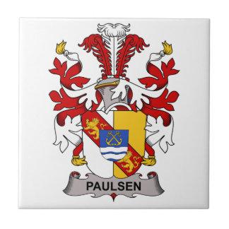 Paulsen Family Crest Ceramic Tile