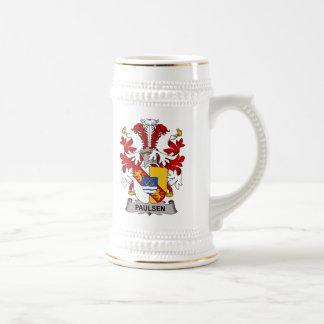 Paulsen Family Crest Coffee Mugs