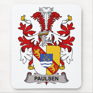 Paulsen Family Crest Mouse Pad