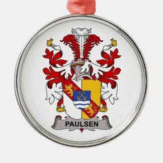 Paulsen Family Crest Ornaments