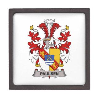 Paulsen Family Crest Premium Jewelry Boxes