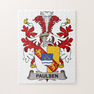 Paulsen Family Crest Puzzles
