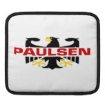 Paulsen Surname Sleeve For iPads