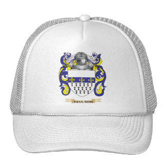 Paulson Coat of Arms (Family Crest) Hat