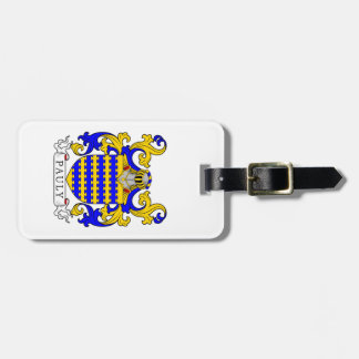 Pauly Coat of Arms Bag Tag