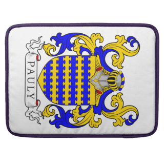 Pauly Coat of Arms Sleeves For MacBooks