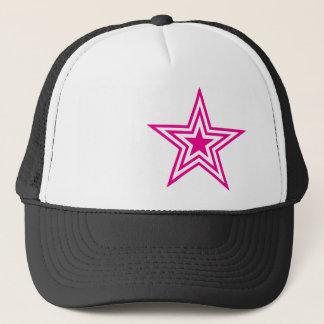 Pauly D Pink Star Trucker Hat