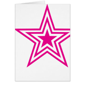 Pauly Star-Pink Card
