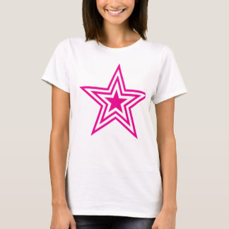 Pauly Star-Pink T-Shirt