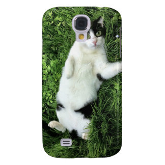 Pauly the cat - big eyes galaxy s4 cases