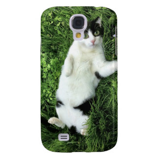 Pauly the cat - big eyes galaxy s4 covers