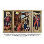 Paumgartner Altar General View Inside Postcards