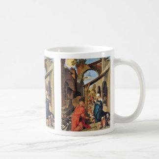 Paumgartner Altar: Medium Image: Birth Of Christ Mugs