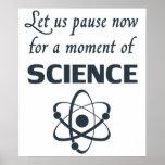 Pausa por un momento de ciencia