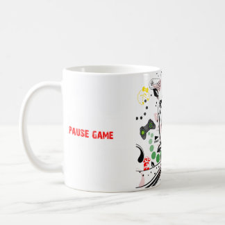 Pause and Resume cup design