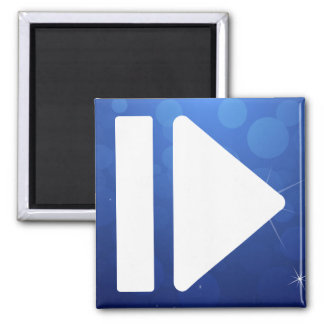 Pause Forward Pictograph Magnet