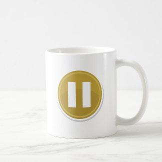 Pause Classic White Coffee Mug