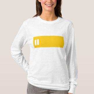 Pause Mustard Yellow Stripe shirt