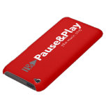 Pause & Play iPhone cover Barely There iPod Cases