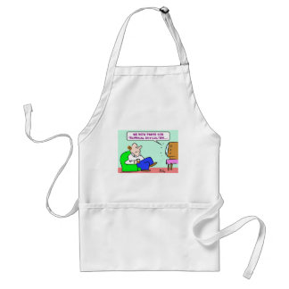 pause technical difficulties tv adult apron