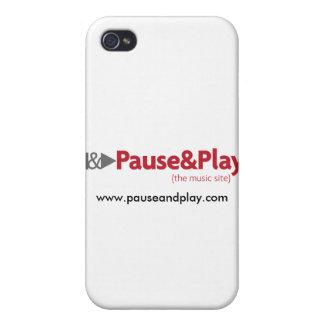 pauseplay_logo, www.pauseandplay.com covers for iPhone 4