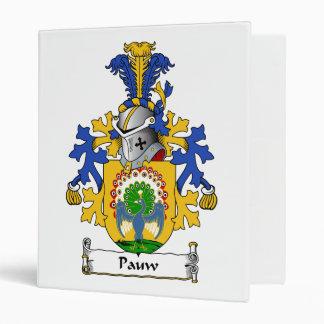 Pauw Family Crest Vinyl Binders