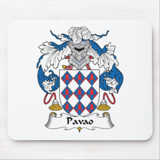 Pavao Family Crest Mouse Pad
