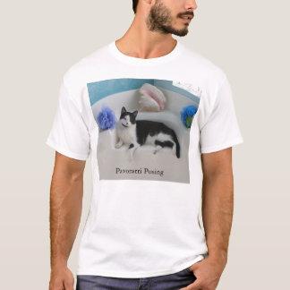 Pavarotti Posing T-Shirt