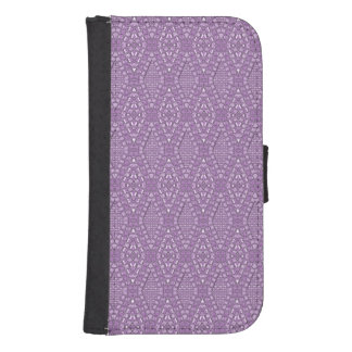 Pave Diamonds Amethyst Samsung Galaxy s4 Wallet