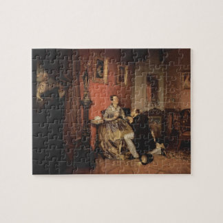 Pavel Fedotov- Difficult Bride Jigsaw Puzzle