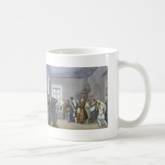 Pavel Fedotov- Police Commissary's Reception Room Classic White Coffee Mug