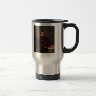 Pavel Fedotov- Portrait of F. Ye. Yakovlev 15 Oz Stainless Steel Travel Mug