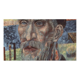 Pavel Filonov: El Kolkhoznik Plantillas De Tarjetas De Visita