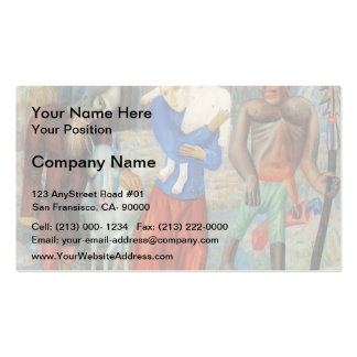 Pavel Filonov- Flight to Egypt Double-Sided Standard Business Cards (Pack Of 100)
