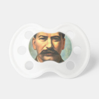 Pavel Filonov: Portrait of Joseph Stalin Baby Pacifier