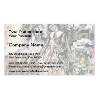 Pavel Filonov-Untitled (St. George the Victorious) Business Cards