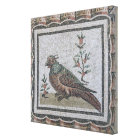 Pavement depicting a pheasant canvas print